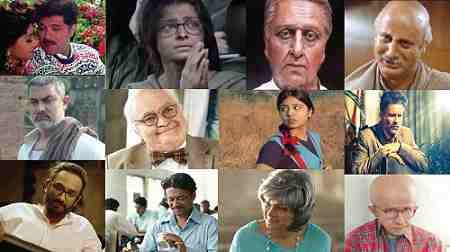 List of Bollywood actors who have done senior citizens roles