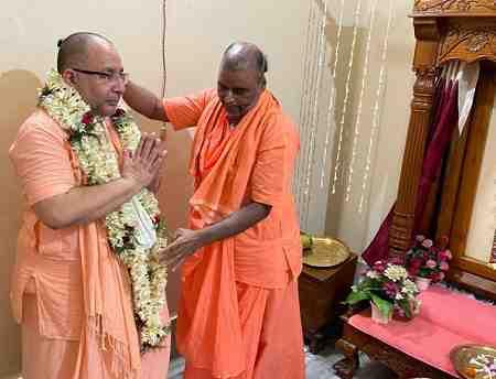 चंडीगढ़ के विष्णु महाराज बने चैतन्य गौड़ीय मठ समूह के अंतरराष्ट्रीय अध्यक्ष